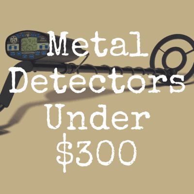 What's the Best Metal Detector Under $300?